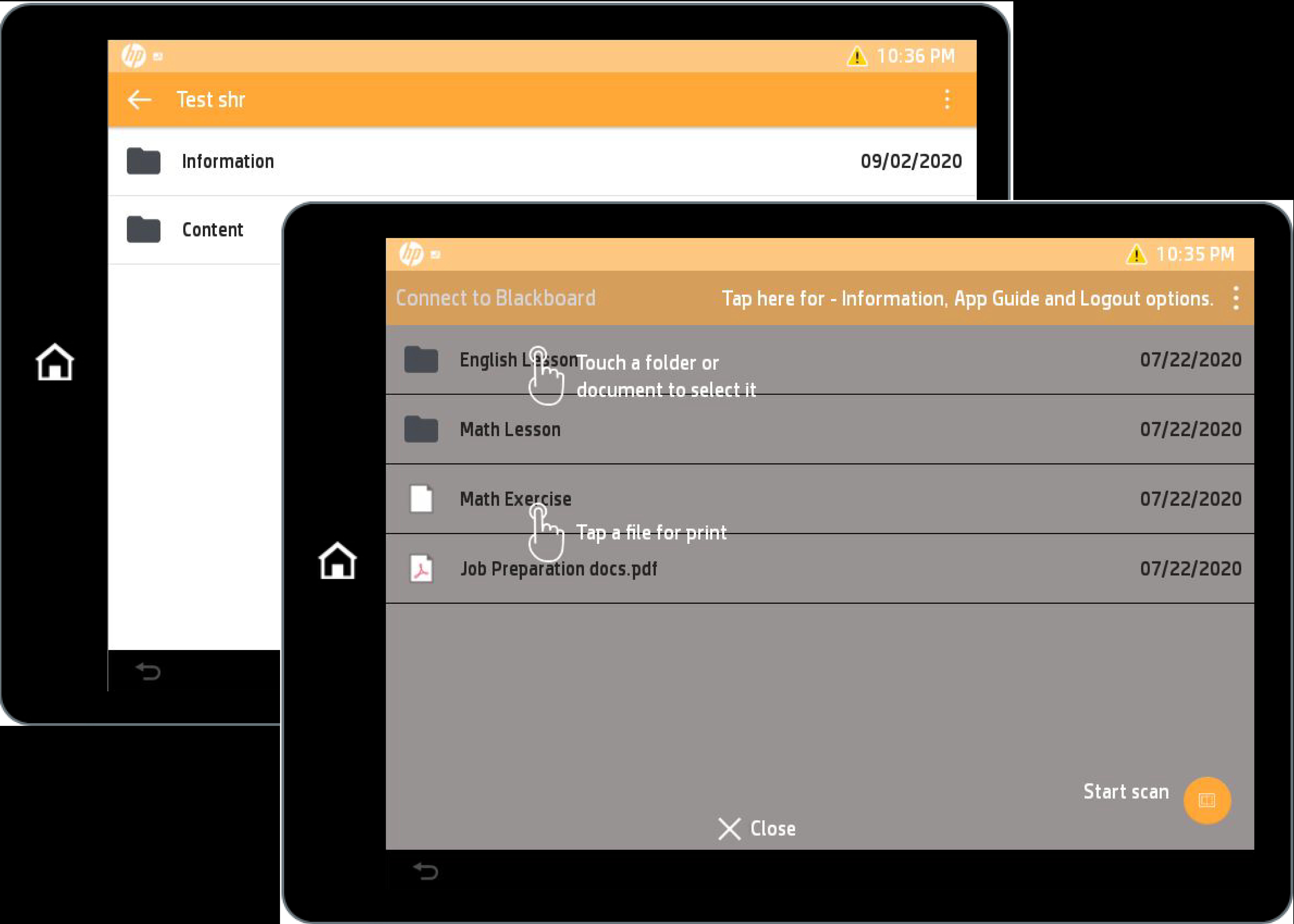 Connect To Blackboard Screenshot