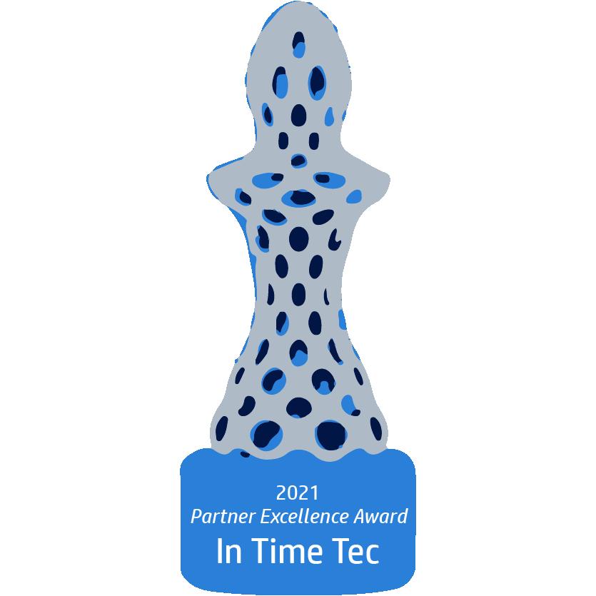 HP Partner Excellence Award 2021